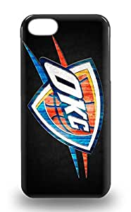 New Iphone 5/5s Case Cover Casing NBA Oklahoma City Thunder 3D PC Soft Case