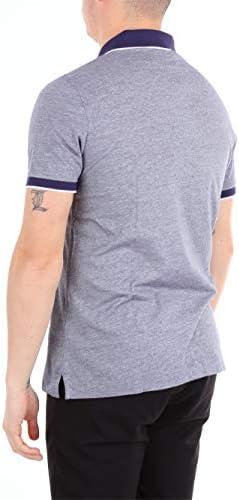HERITAGE Fashion Mens 0873PBLUEBIANCO Blue Polo Shirt | Season Outlet