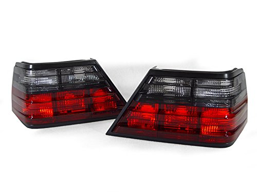 DEPO 1986-1995 Mercedes Benz W124 E Class Euro Smoke Tail Brake Light Set ()
