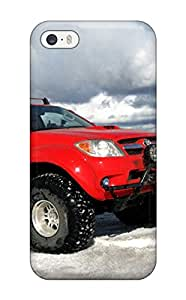 Protective Tpu Case With Fashion Design For Iphone 5/5s (toyota Hilux 8)