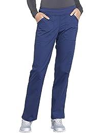 Workwear Professionals Mid Rise Straight Leg Pull-on...