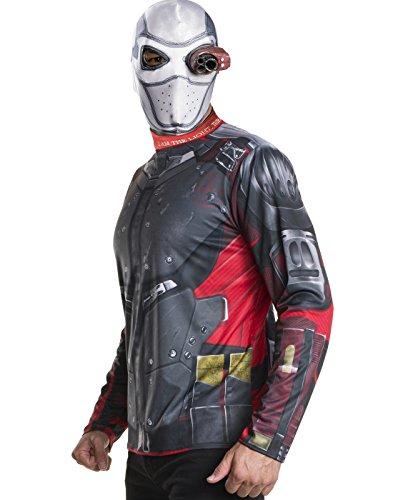 Rubie's Men's Suicide Squad Deadshot Costume Kit, As As Shown, -