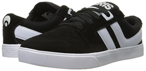Zapatillas Osiris: Mens Lumin Black/White BK negro/blanco/negro