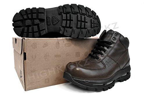 Amazon.com | Nike Air Max Goadome Big Kids Style Shoes 311567, Dark  Cinder/Dark Cinder-Black, 4 | Boots