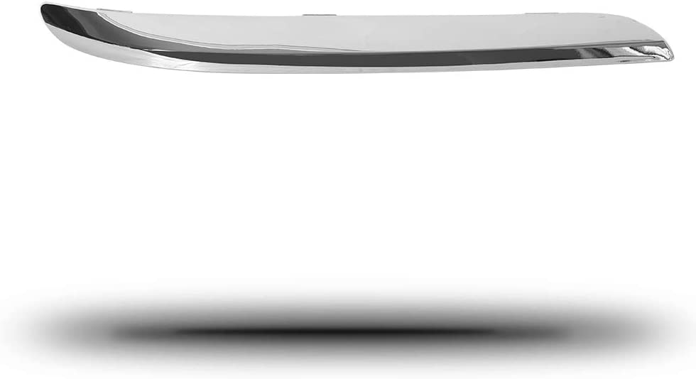 YHA Compatible with 2011-2014 300 Sedan Front Bumper Molding Trim Chrome Set LH RH