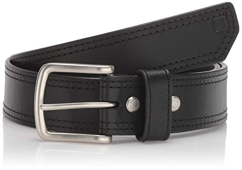 - 5.11 Tactical Men's 1.5-Inch Full Grain Matte Leather Arc Belt, Ergonomic Curve, Style 59493