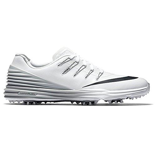 Nike Lunar Control 4 Golf Shoes 2016 Women White/Wolf Grey/Black Medium 9 by NIKE