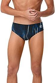Speedo Mens Swimsuit Brief Endurance+ Printed Team Colors