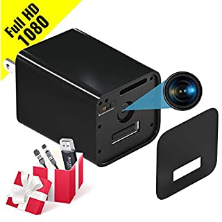 Spy Camera - HD 1080P Hidden Camera USB Wall Charger - Premium Pack - USB Hidden Cameras – Best Mini Spy Camera Charger Video Recorder Home Security System - Motion Detector Nanny Camera