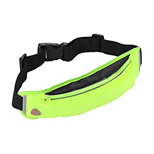 Finance Plan Outdoor Sport Waist Bag Gym Fitness Running Key Phone Holder with Headset Hole
