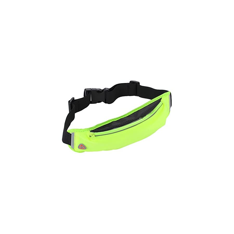 Finance Plan Outdoor Sport Waist Bag Gym Fitness Running Key Phone Holder with Headset Hole