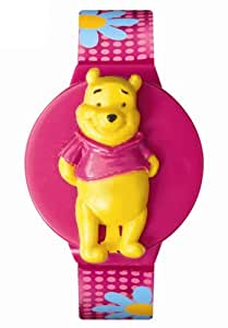 Disney Kids' MU2531P Winnie the Pooh Interchangeable Watch Set