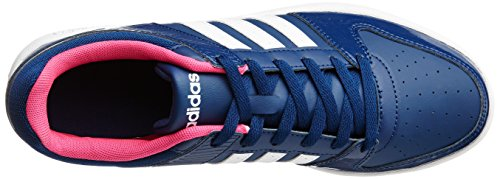 adidas Vs Hoopster W, Scarpe da Ginnastica Donna, Blu (Azumis/Ftwbla/Rosimp), 40 EU