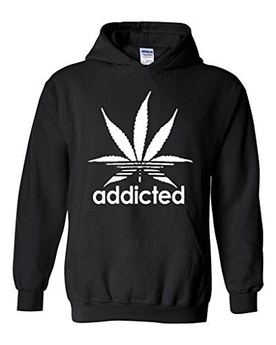 artix-addicted-white-leaf-unisex-hoodie-weed-related-sweatshirts-x-large-black
