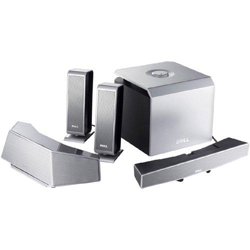 Dell WL6000 5.1 Surround Sound 5.8ghz Wireless Speakers