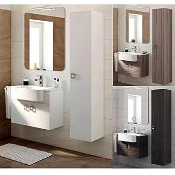 Meuble de salle de bain suspendu Florida 70+30 cms Style ...