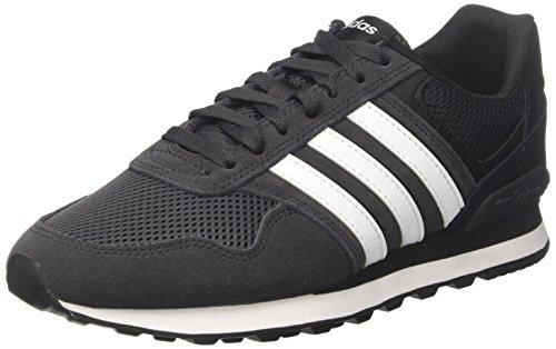 10k footwear Nero Sneaker carbon White Black core Adidas Uomo pxqawdBB