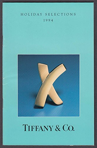Tiffany & Co Holiday Selections 1994 catalog X Brooch -