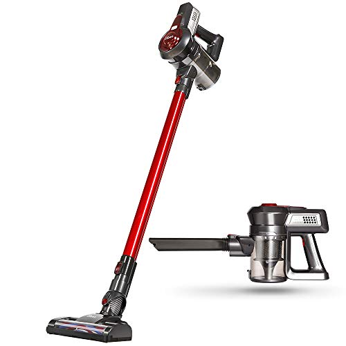 Dibea Cordless Vacuum Cleaner, 2 in 1 Upright Vacuum Cleaner
