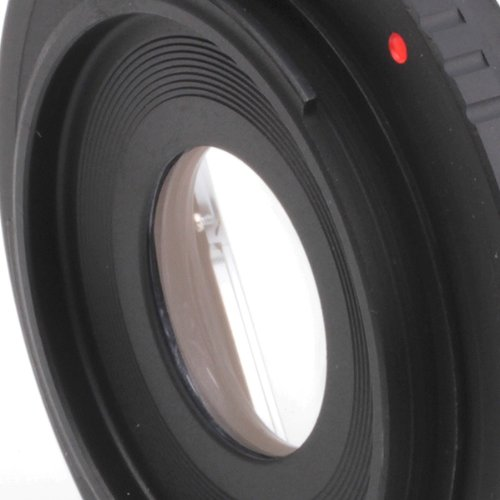 Anillo adaptador de macro inverso de lente de 58 mm para c/ámara Fujifilm X