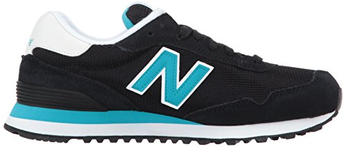 Pisces Sneaker Black Balance 515v1 Women's New wUXfqT6X