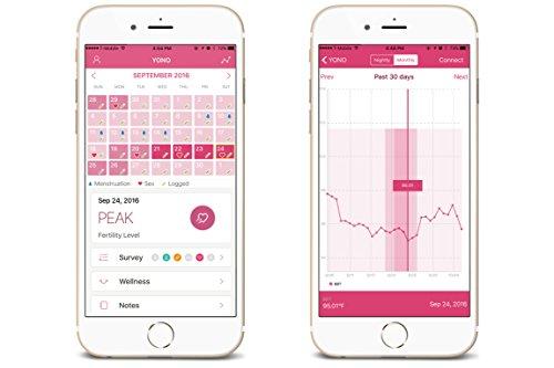 YONO Fertility Monitor, Bold Violet by YONO Health (Image #5)
