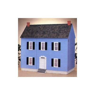 New Concept Dollhouse Kits Front Opening Montpelier Dollhouse Material: Smooth Plywood