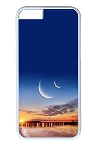 Brian114 6 plus Case, iPhone 6 plus Case - Anti-Scratch Case Bumper for iPhone 6 Plus Three Moons 2 Slim Fit Case for iPhone 6 Plus 5.5 Inches
