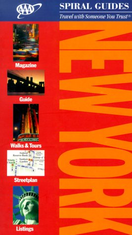 New York (Aaa Spiral Guides) -