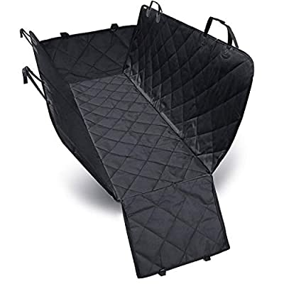 Vansystory Dog Carriers, Dog Cover Hammock 600D Heavy Duty Waterproof Scratch Proof Nonslip Durable Soft Pet Back Seat Covers for Cars, Trucks