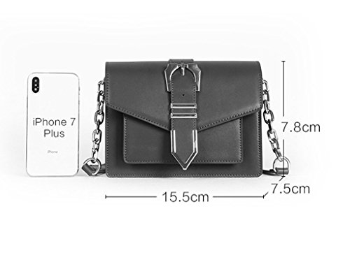 Black Bags Fashion Cross Bag Spring color Buckle Small And body Package Square Women's Emerald Women Green Belt Shoulder Summer Zcjb gq5wxRHw