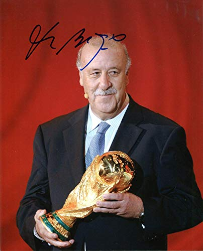 - Vicente del Bosque González autograph, In-Person signed photo