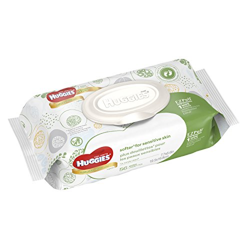 HUGGIES Natural Wipes Disposable Packs