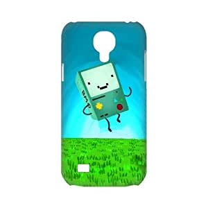 Snap-on Cute Cartoon Beemo Adventure Tim Pictures Hard Plastic Protective Case Back Cover Shell for SamSung Galaxy S4 mini-3