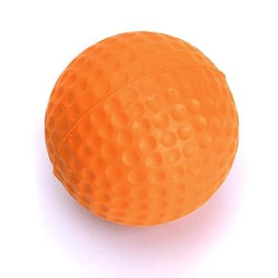 DYNWAVE PU Golf Training Soft Foam Practice Ball Driving Training Practice Orange