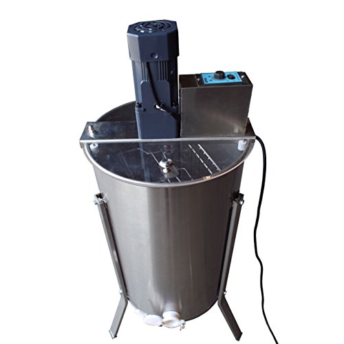 Hardin Royal 2 Electric Two Frame Stainless Steel Honey Extractor by Hardin Royal 2 Motorized