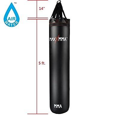 MaxxMMA 5' 70-140 Pound Water/Air Punching bag EX Long