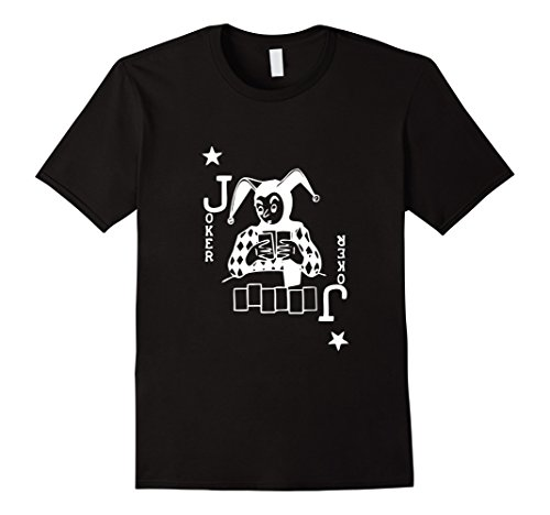 Poker Blackjack Texas Hold Em Playing Card Joker (Texas Holdem Card Poker Shirt)