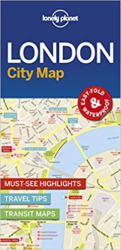 Easy London Map.Lonely Planet London City Map Lonely Planet 9781786574138 Amazon