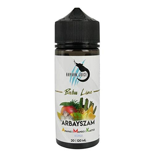 Hayvan Juice Aromakonzentrat Baba Line – Arbayszam A.M.K., Shake-and-Vape zum Mischen mit Basisliquid für e-Liquid, 0.0…