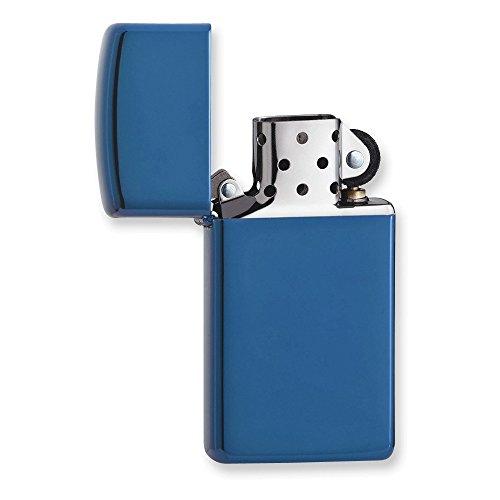 Zippo Sapphire Slim Matte Zippo Lighter