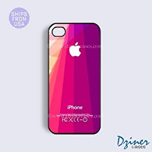 iPhone 6 Plus Tough Case - 5.5 inch model - Purple Geometric Design iPhone Cover by Maris's Diary