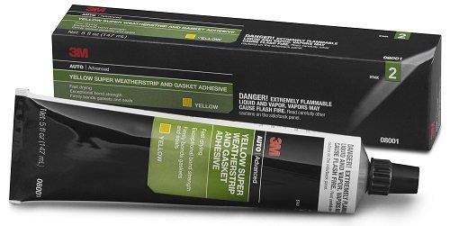 3M 08001 5 oz. Super Weatherstrip and Gasket Adhesive