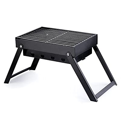 Mini Folding BBQ Grill ICOCO Charcoal Grill Portable Outdoor Barbecue Table Charcoal Smoker Camping Garden Picnic from ICOCO