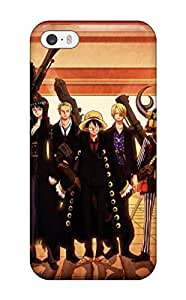 Awesome One Piece Strong World Anime Flip Case With Fashion Design For Iphone 5/5s