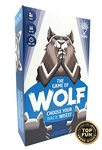 The Game of Wolf a Trivia Game for Friends and Families by Gray Matters - Gray Wolf