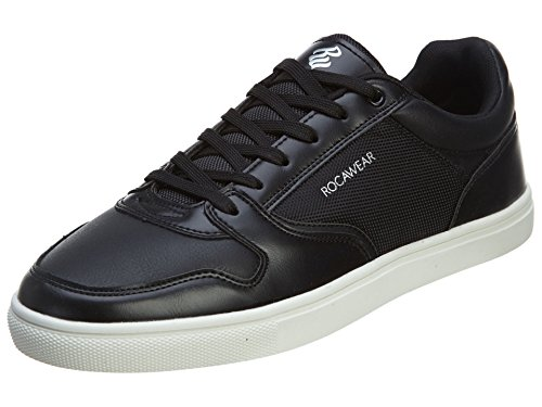 Rocawear Men's ERIC-01 Black Low Top Fashion Sneakers (Rocawear Mens Sneakers)