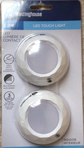 Westinghouse LED Touch Light, 2-pk