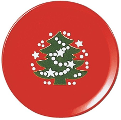 Waechtersbach Christmas Tree Salad Plate, Set of 4