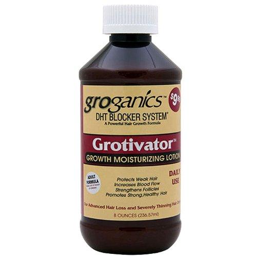 Groganics Grotivator Growth Moisturizing Lotion, 8 Ounce